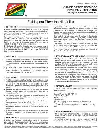 04 HDT FLUIDO PARA DIRECCION HIDRAULICA R2 - Roshfrans
