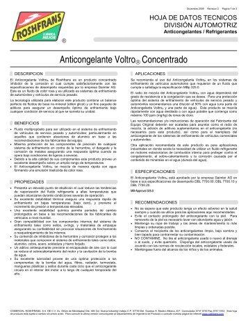 06 HDT ANTICONGELANTE VOLTRO CONC. R2 - Roshfrans