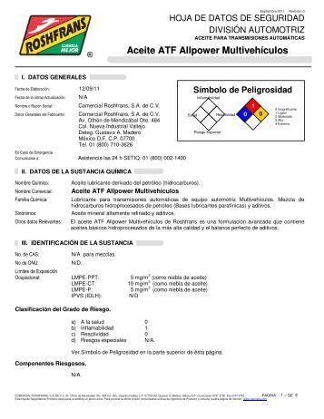 Aceite ATF Allpower Multivehículos - Roshfrans
