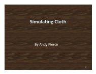 Simula/ng Cloth