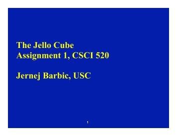 for jello cube