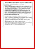 Allgemeine Hinweise für werdende oder stillende Mütter zum ... - Seite 2