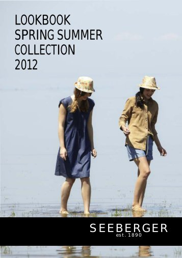 LOOKBOOK SPRING SUMMER COLLECTION 2012