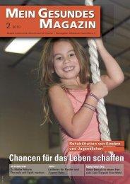 Mein Gesundes Magazin 2 2010 - Arbeitskreis Gesundheit eV