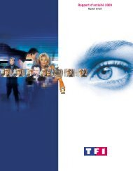 Rapport d'activité 2000 - TF1
