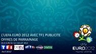 Offres de parrainage - TF1