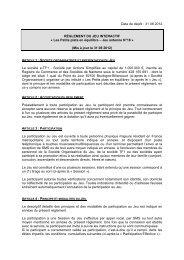 Date de dépôt : 31 08 2012 RÈGLEMENT DU JEU INTERACTIF - TF1