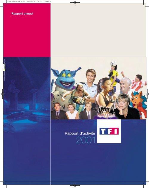 """Rapport activit""""/2 (1re Partie) - TF1"""