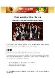 COUPE DU MONDE DE LA FIFA 2010 - TF1