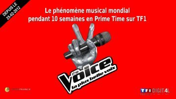 offre live – the voice - TF1
