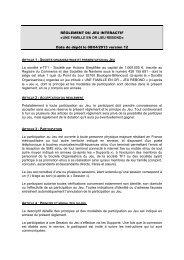 Règlement - TF1