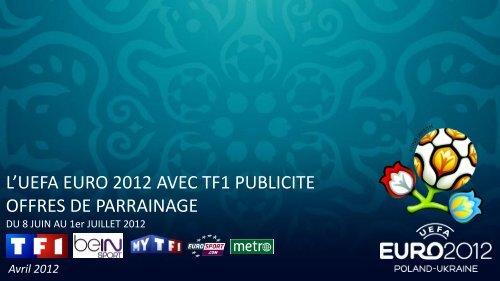 uefa euro 2012 - TF1