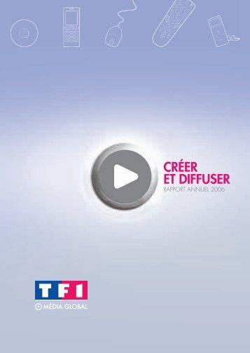 CRÉER ET DIFFUSER - Tf1