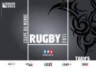 tarifs tf1 publicité coupe du monde de rugby 2011 – offres digitales