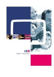 Rapport 1er semestre 2003 - TF1