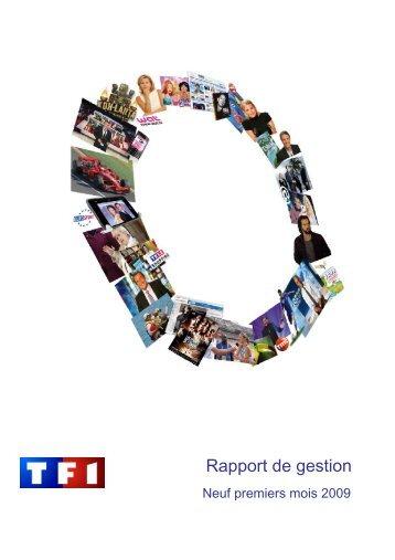 Rapport de gestion - TF1
