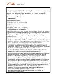 Öffentliches Verfahrensverzeichnis (§ 4g Abs.2 BDSG ... - Saferpay