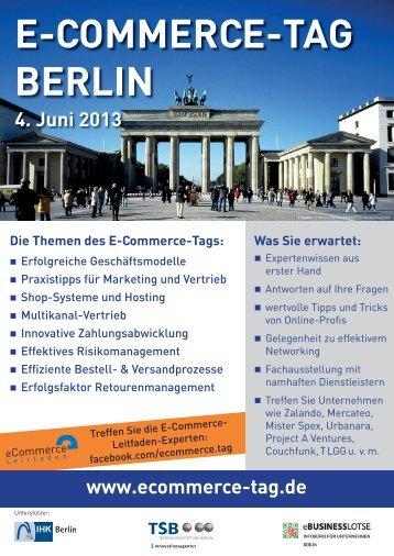 E-Commerce-Tag Berlin am 4. Juni 2013 - Saferpay