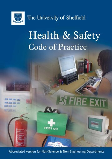SAF-Code of Prac-Inners 20pp - Safety.dept.shef.ac.uk - University ...