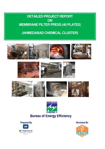 DPR on membrane filter press (40 Plates) - Sameeeksha