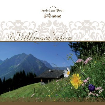Download Sommerprospekt - Hotel Post