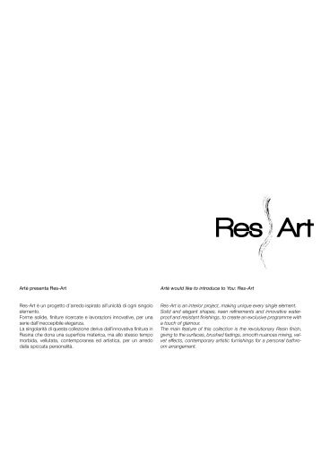 Artи would like to introduce to You: Res-Art Res-Art is an interior ...