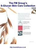 The FM Group's ß-Glucan Skin Care Collection - ScentsForYou - Page 3