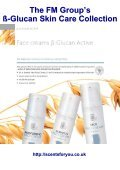 The FM Group's ß-Glucan Skin Care Collection - ScentsForYou - Page 6
