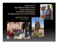Ethnobotany of Baja California's Kumiai Indians j and the ...