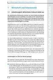 1 Wirtschaft und Arbeitsmarkt - Arbeitskammer des Saarlandes