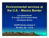 Mexico Border - Southwest Consortium for Environmental Research ...