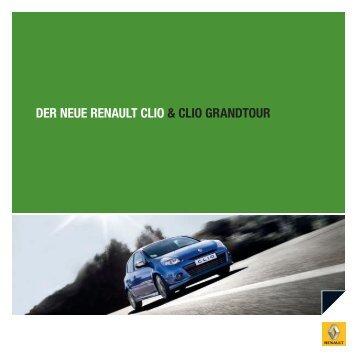 DER NEUE RENAULT CLIO & CLIO GRANDTOUR