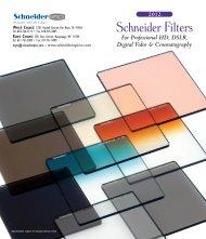 Schneider Filters - Schneider Optics