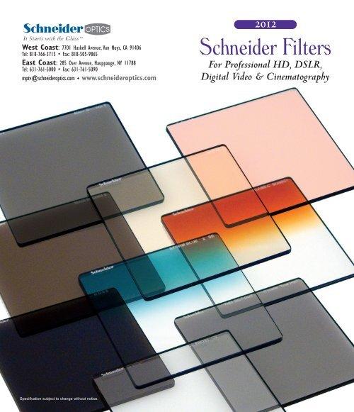Schneider 4x4 Storm Blue Solid 1//8 Glass Filter