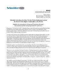 NEWS Schneider introduces the Kino-Torsion M ... - Schneider Optics