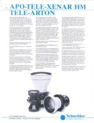 {a APO-TELE-XENAR HM - Schneider Optics
