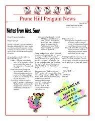 Penguin News March 24, 2011 - Camas School District