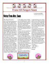 Penguin News September 23, 2010 - Camas School District