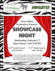 Grass Valley News-January 31, 2013 - Camas School District