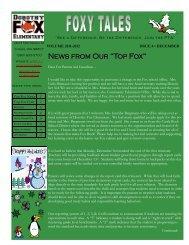 foxy-tales-december-2012 - Camas School District