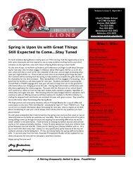 April Newsletter 2011 Final 032911.pub - Camas School District