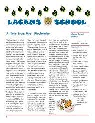 September Newsletter 2010 - Camas School District