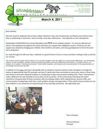 Grass Valley News-March 4, 2011 - Camas School District