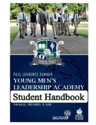 YMLA Student Handbook - Fort Worth ISD Schools