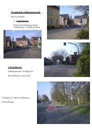 Parcour Kempener Allee - Schulamt für die Stadt Krefeld