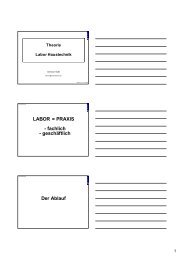 Theorie Labor Haustechnik Handouts.pdf - NuferPartner