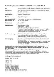 Ausschreibung Schwalbach-Schöffengrund, EWU-C Turnier, 16.04.