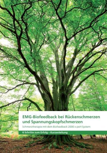 EMG-Biofeedback bei Rückenschmerzen und ... - schwa-medico