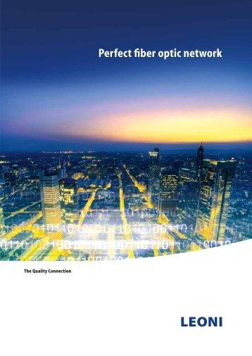 Perfect fiber optic network