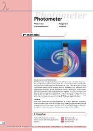 Photometer - Aquacare Gmbh & Co. KG